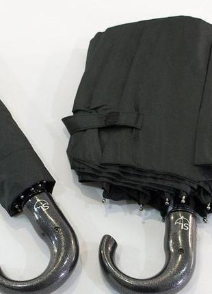 Мужской зонт полуавтомат на 9 спиц от фирмы is