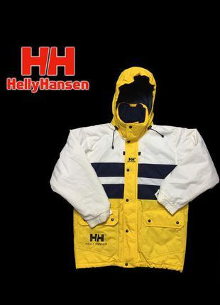 Телпя куртка helly hansen