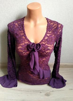 Новая гипюровая блузка