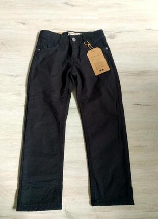 Новые черные брюки на флисе для мальчикоа в школу. 116-146. ве...