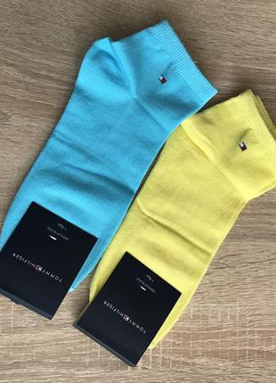 Низкие спортивные носки tommy hilfiger набор 2 пары