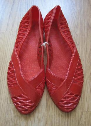 Балетки сандалии босоножки детские пляжные резиновые новые 28