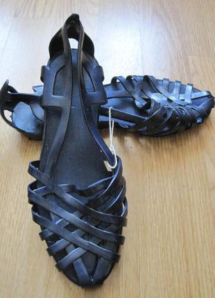 Балетки сандалии босоножки пляжные резиновые новые 38 и 39