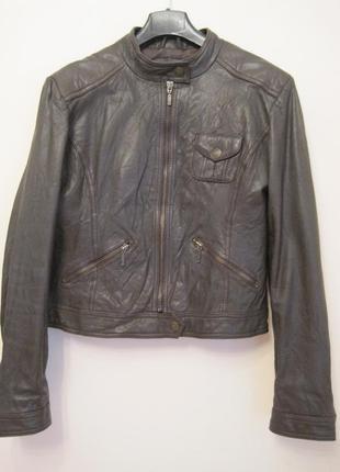 Куртка натуральная кожа morgan оригинал м