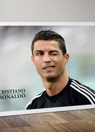 Плакат Роналдо, Ronaldo. Real Madrid, Juventus