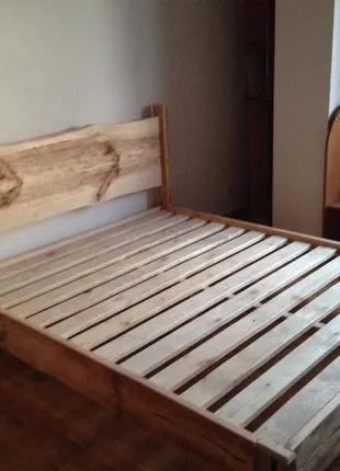 Кровати из дерева ручной работы!
