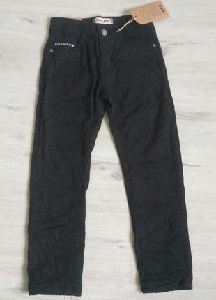 Новые черные котоновые брюки для мальчиков в школу. венгрия. з...