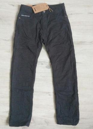 Новые серые котоновые брюки для мальчиков в школу. венгрия. зи...