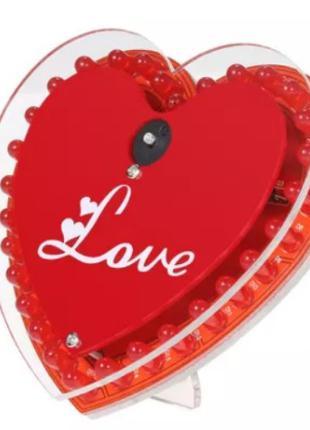 Подарок ко Дню Влюбленных! Музыкальное сердце с Led подсветкой