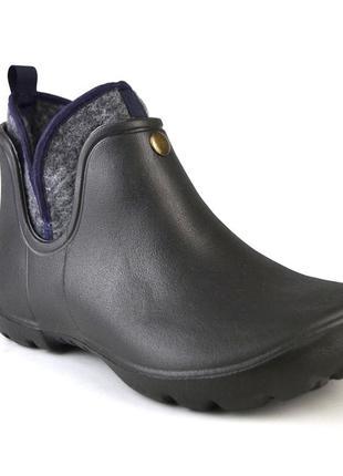 Непромокаемые ботинки с теплым съемным вкладышем из пены эва