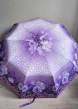 Женский зонт-полуавтомат lantana нежной расцветки