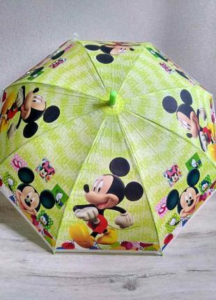 Детские зонтики с микки маусом