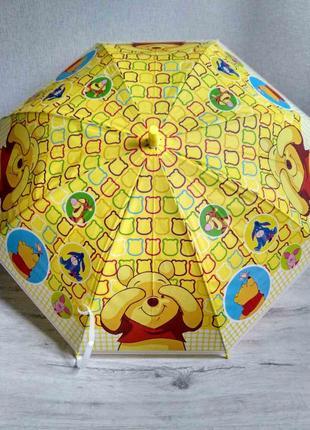 Детские зонтики от 4 до 8 лет .  винни-пух