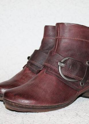 Кожаные ботинки airstep 36 размер 23,5 см стелька