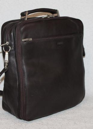 Мужская кожаная сумка petek