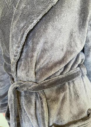 Серый женский халат от zando.