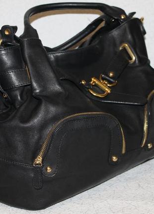 Большая кожаная сумка minelli