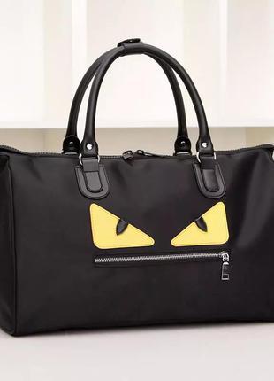 Стильная, дорожная сумка monster, выходная сумка, ручная кладь