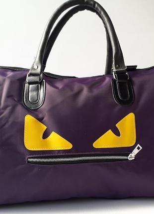 Стильная, качественная дорожная сумка monster