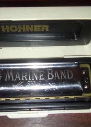 Губная гармошка HOHNER Marine Band 1896