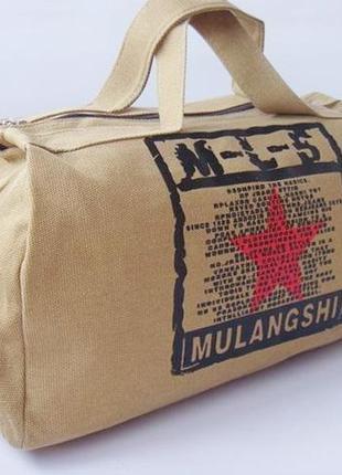 Дорожная сумка, брезентовая сумка, брезент