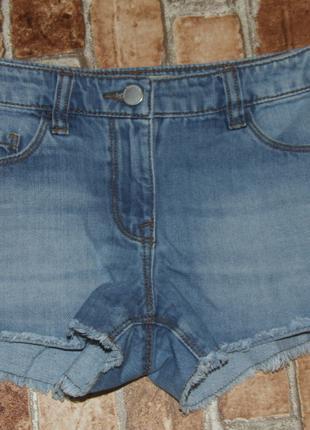 шорты джинсовые 8 лет девочке некст