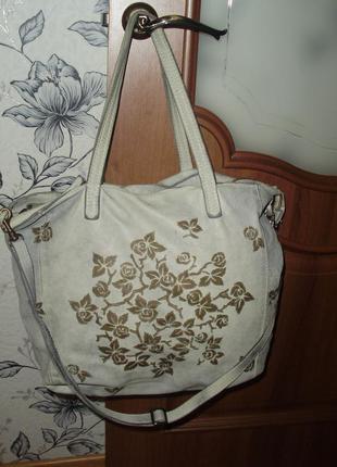 Caterina lucchi дизайнерская кожаная сумка