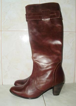 Bata кожаные сапоги (37)