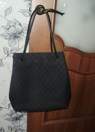 Gucci canvas monogram id 152279 001998 сумка