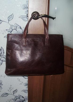 Furla (italy) кожаная сумка