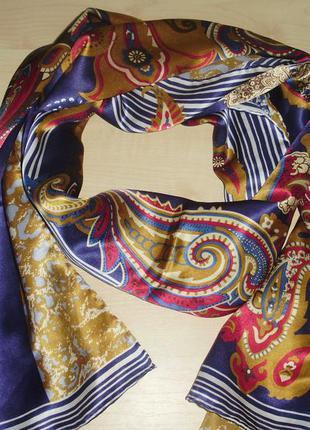 Navyboot  нежнейший шелковый шарф