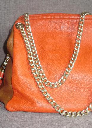 Vera pelle (italy) кожаная сумка
