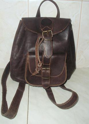 Viglis genuine leather кожаный рюкзачок