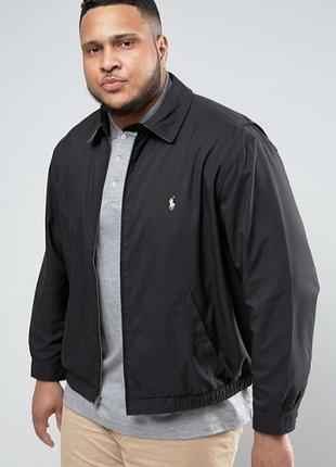 Куртка ветровка harington  polo by ralph lauren size xl