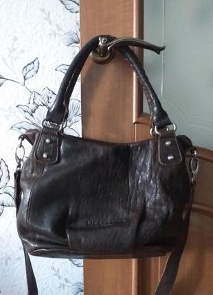 Liebeskind berlin кожаная сумка