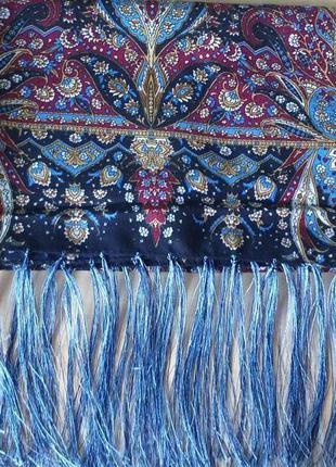 Большой, красивый палантин-шарф