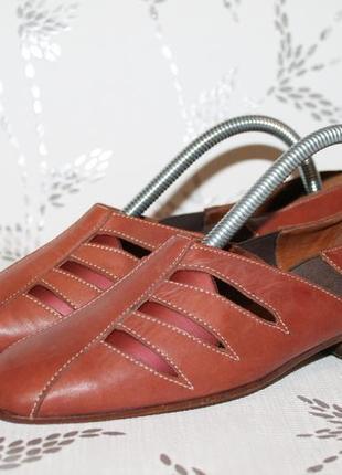 Оригинальные кожаные туфли tea flor made in italy 35 размер 23...