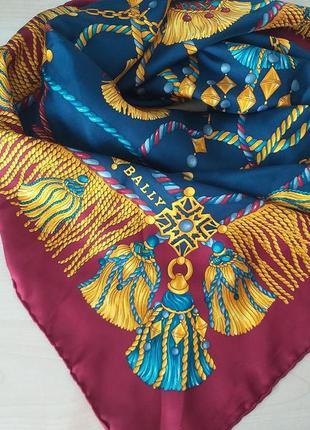 Bally (италия)  шелковый платок