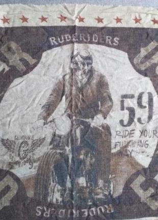 "Rude riders - ""salt flat"" очень крутой шарф"