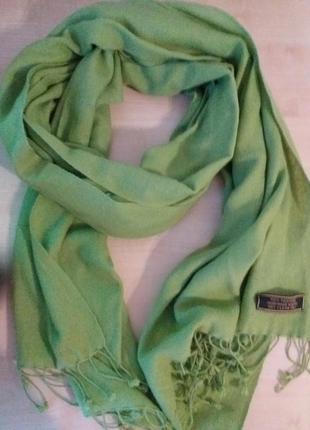 Нежный кашемировый шарф