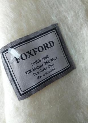 Foxford мохеровый  плед