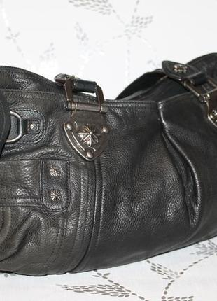 Шикарная кожаная сумка от b.makowsky
