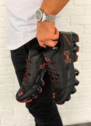 Under Armour Scorpio Running shoes black/orange