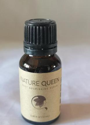 Nature queen питательная сыворотка для волос,12 мл