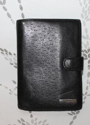 Кожаная обложка на документы/обложка на паспорт/документница