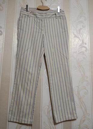 Фирменные брюки  в полоску , tommy hilfiger.