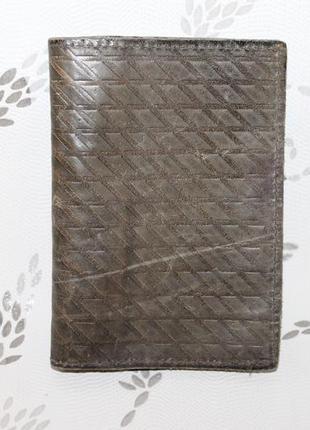 Кожаная обложка на документы/паспорт