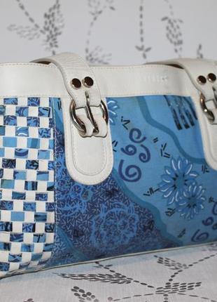 Оригинальная сумка versus натуральная кожа+ткань