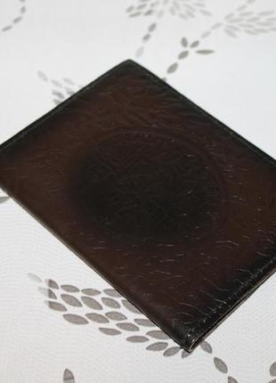 Кожаная обложка на документы/паспорт киев