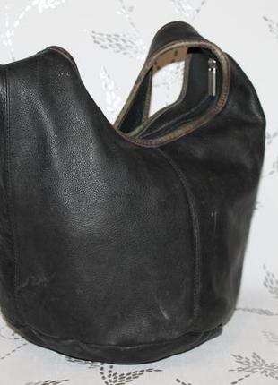 Кожаная сумка торба